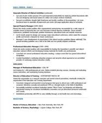 Resume For A Program Director by Program Director Page1 Resume Pinterest Resume Free Resume