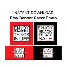 etsy black friday sale etsy shop banner set etsy cover photo set etsy by thepapergirlco