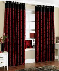 Gray And Red Curtains Curtains Black And Red Curtains For Living Room Decor Beautiful