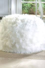 Faux Fur Ottoman Faux Fur Ottoman Faux Fur Ottoman Slipcover Proportionfit Info