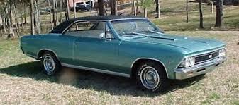 1966 chevelle paint codes