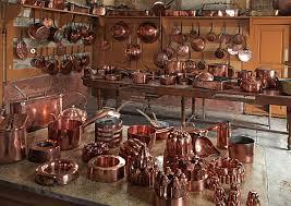 batterie de cuisine en cuivre batterie de cuisine château de digoine charolais burgundy