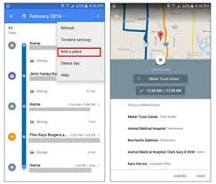 timeline maps add missing places to your maps timeline on android cnet