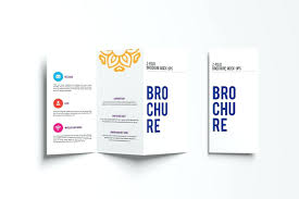 fold brochure template template z fold brochure template mock up exle image 9 tri