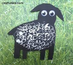lamb crafts for toddlers craftulate