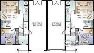 Multi Family House Plans Duplex 3 Bedroom Duplex Floor Plans With Garage Homes Zone