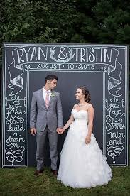 wedding backdrop sign a chalkboard sign wedding