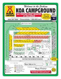 Wisconsin Dells Map by Jackson Minnesota Campground Jackson Koa