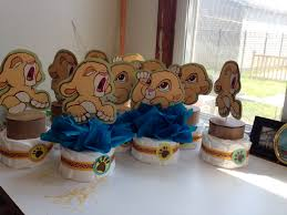 Baby Shower Centerpieces For Boy by Baby Simba Centerpieces The Lion King By Delabhe Baby Shower Baby