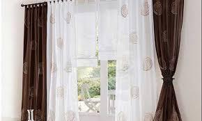 gardinen modern wohnzimmer gardinen wohnzimmer design braun innen und mobelideen designer set