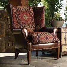 Upholstered Wingback Chair Leather Upholstered Wingback Chair Wingback Chair Furniture