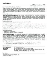 technical support engineer resume sample 9 best best network