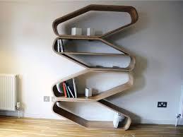 Modern Wall Bookshelves Enjoyable Design Cool Wall Shelves Impressive Ideas Shelving 20