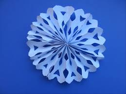 how to make a fan how to make a snowflake fan decoration