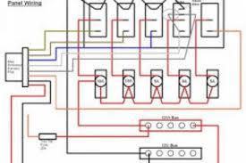 marine switch panel wiring diagram wiring diagrams