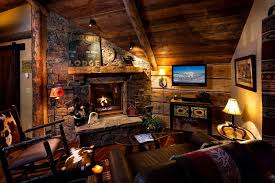 log cabin living room decor charming cowboy log cabin living room interior modern style cabin