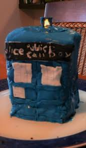tardis cake topper doctor who cakes