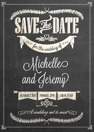 free pdf download stylish chalkboard save the date easy to edit