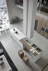 cuisine dans loft cuisine moderne avec grand ilot central dans un loft visit the