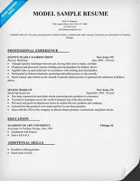 Actor Sample Resume Model Resume Template Model Resume Sample Child Actor Sample