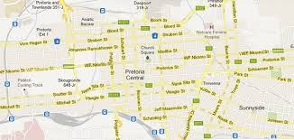 Pretoria South Africa Map by Old Pretoria Street Names To Stay For Now