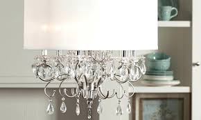 18 drum l shade crystal chandelier with shades special within drum shade designs 9