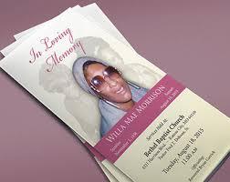 Beautiful Funeral Programs Beautiful Memorial Program In Loving Memory