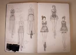 13 best fashion design sketch book pages ideas sketches images