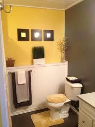 Gray And Yellow Bathroom Ideas by Download Small Bathroom Decor Ideas Gen4congress Com Bathroom
