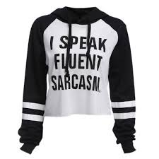 i speak fluent sarcasm sweater gender pullover and sweatshirt