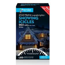 snowing icicle outdoor lights christmas lights christmas decorations xmas