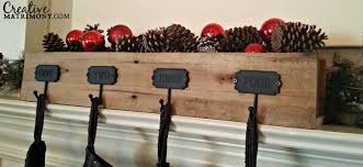 interior decor hangers for mantle