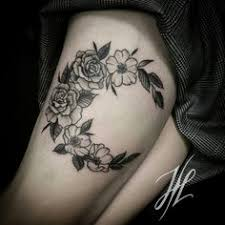 floral crescent crescent moon tattoos moon with flowers