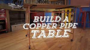How To Build A Farmhouse Table How To Build A Table With Pipe Base Diy
