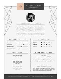 Modern Resume Format This Super Chic Clean Professional And Modern Resume Will Help