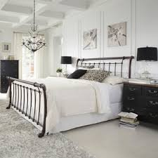 Metal Sleigh Bed Lucinda Steel Bed Free Shipping Today Overstock Com 16280799