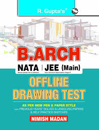buy a complete self study guide for b arch entrance examination