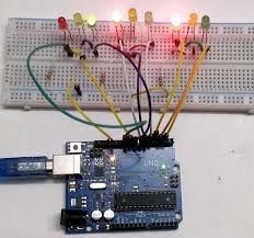 4 way traffic light using arduino arduino traffic light controller project with circuit diagram and code