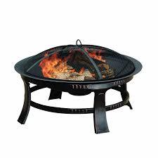 amazon com pleasant hearth brant round fire pit 30 inch