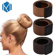 chignon maker m mism hair donut bun maker styling hair fold wrap