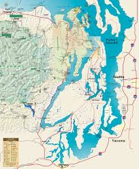 Bothell Washington Map by Official Map Of Hood Canal And Olympic Peninsula With Links To