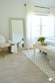 Full Length Mirror In Bedroom Guest Bedroom Reveal The White Room
