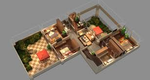 isometric house 3d cgtrader