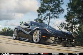 Ferrari F12 Matte Black - gallery ferrari f12 berlinetta on brushed adv 1 wheels