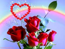 red love wallpapers rainbow