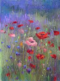 Color Painting by Beautiful Water Color Paintings Of Flowers Purple Haze Lavender