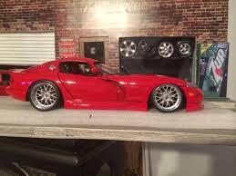 Dodge Viper Custom - dodge viper 20 inch bbs staggered custom diecast garage