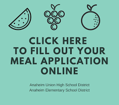 high school applications online anaheim schools school nutrition and fitness
