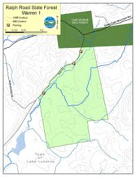 Ny State Road Map by Ralph Road State Forest Map Nys Dept Of Environmental Conservation