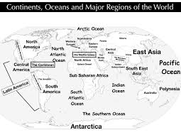 Map Of The Continents And Oceans Blank by Essay Writing Services Reviews Nativeagle Com